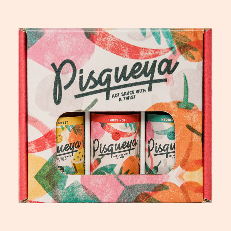 Pisqueya Hot Sauce Gift Box